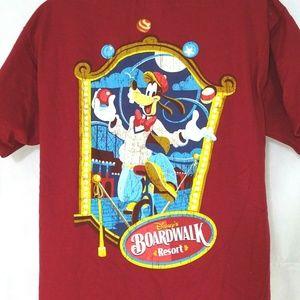 Hanes Disneyland Boardwalk Resort T-Shirt Goofy